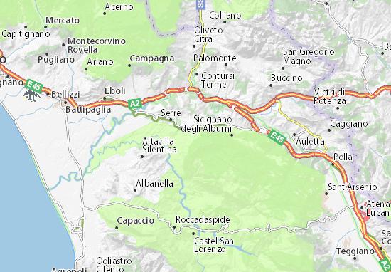 Mappe-Piantine Postiglione