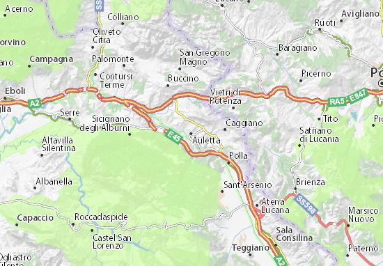 Mappe-Piantine Auletta