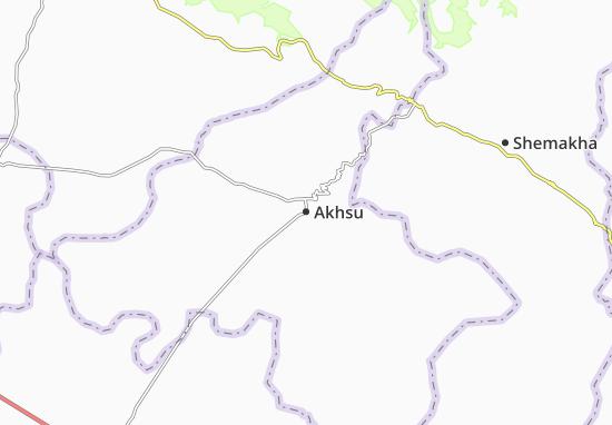 Carte-Plan Akhsu