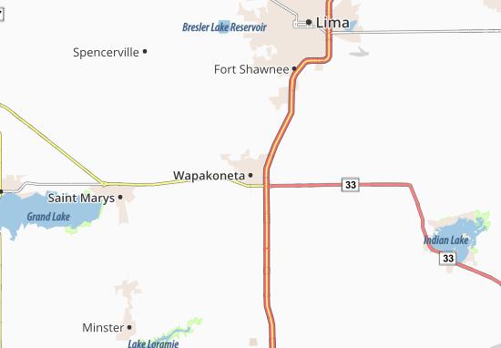 Mappe-Piantine Wapakoneta