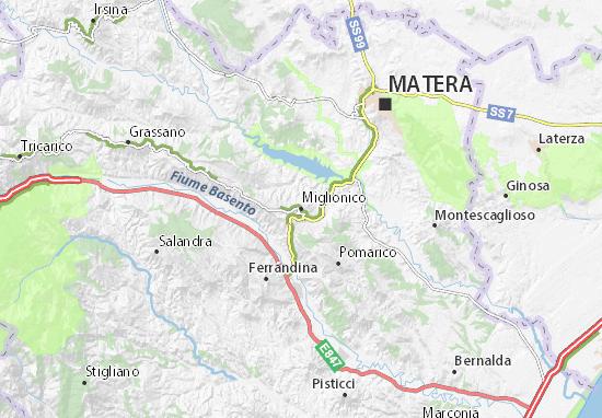Mappe-Piantine Miglionico