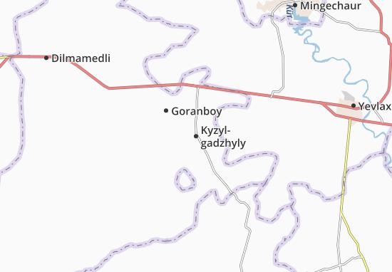 Kyzyl-gadzhyly Map