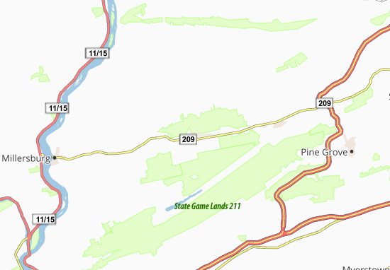 Wiconisco Map