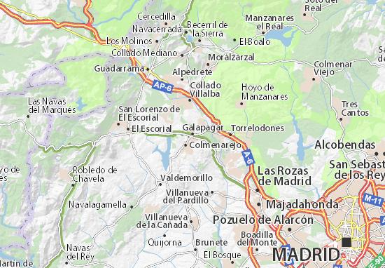 Galapagar Map