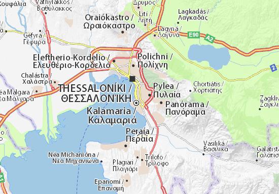 Mapas-Planos Thessaloníki