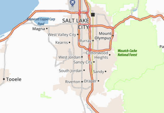 Map of west jordan michelin west jordan map viamichelin are you looking for the map of west jordan find any address on the map of west jordan or calculate your itinerary to and from west jordan gumiabroncs Image collections