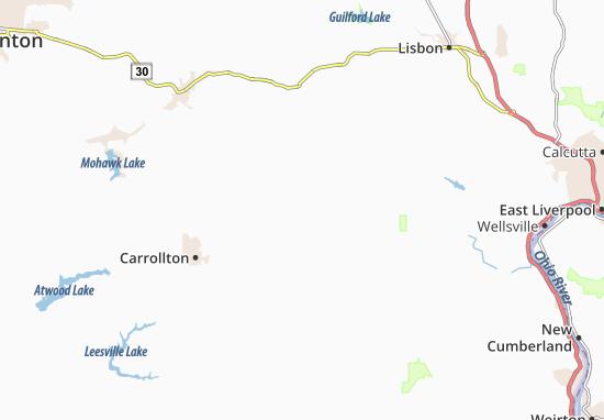 Mechanicstown Map