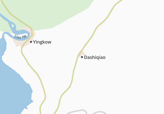 Kaart Plattegrond Dashiqiao