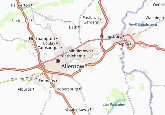 Mapa Plano Bethlehem