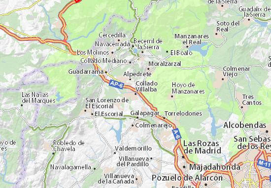 Collado Villalba Map