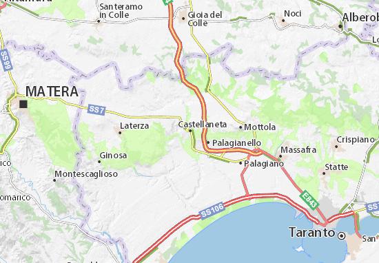 Mappe-Piantine Castellaneta