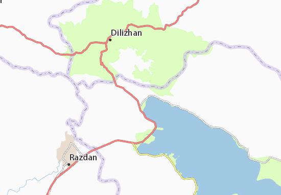 Mapa Plano Tsovagyukh