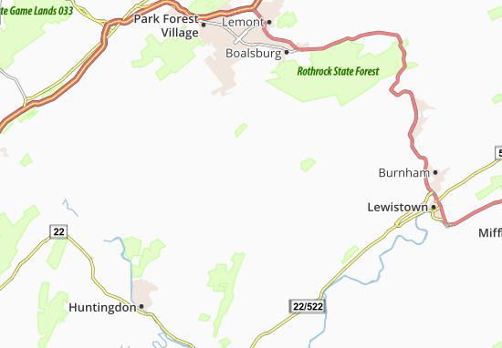 Ennisville Map