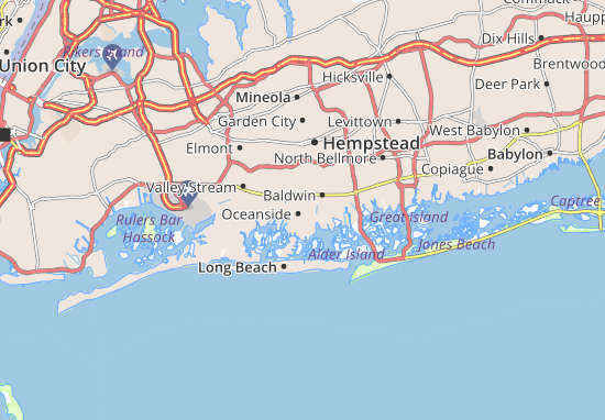 Oceanside Map