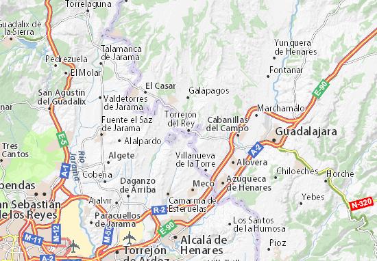 Mapas-Planos Torrejón del Rey