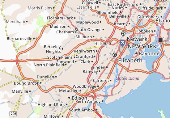 Mapa Plano Westfield