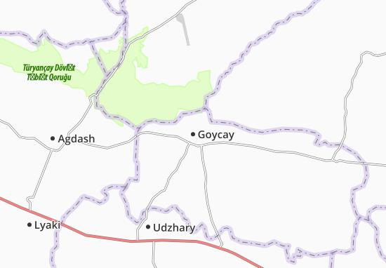 Mapa Plano Goycay