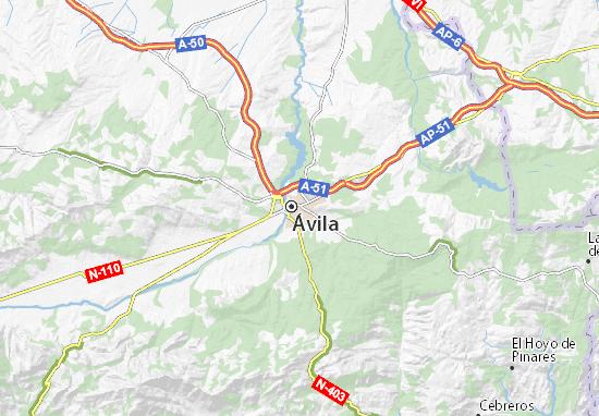 Mapas-Planos Ávila
