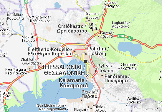 Ampelokipi Map