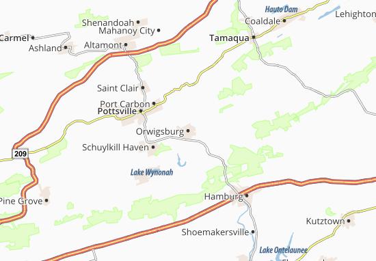 Carte-Plan Orwigsburg