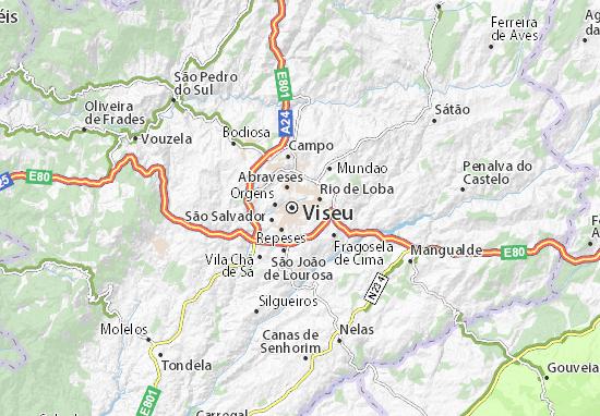 Viseu Map