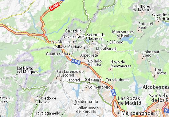 Alpedrete Map