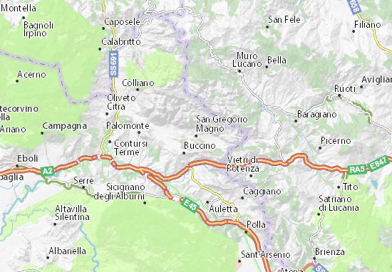 Mappe-Piantine San Gregorio Magno