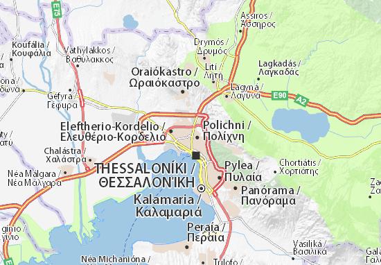 Stavroupoli Map