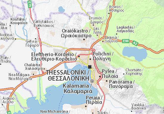 Kaart Plattegrond Evosmo