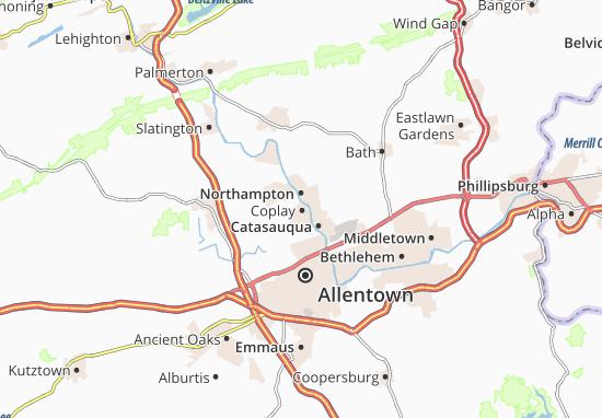 Mapa Plano Coplay