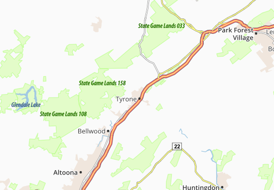 Tyrone Map