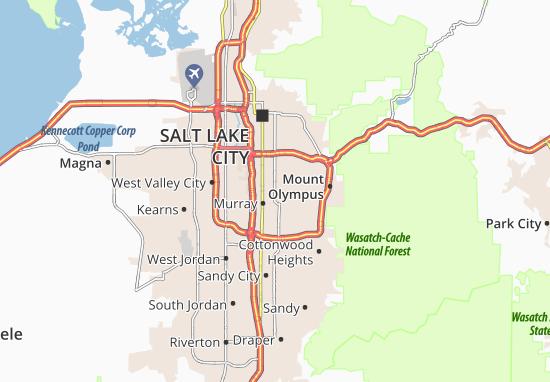Millcreek Map