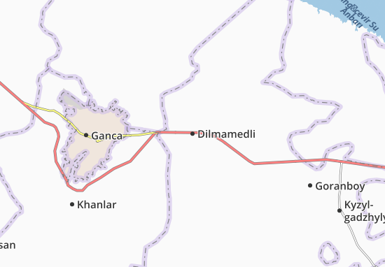 Dilmamedli Map