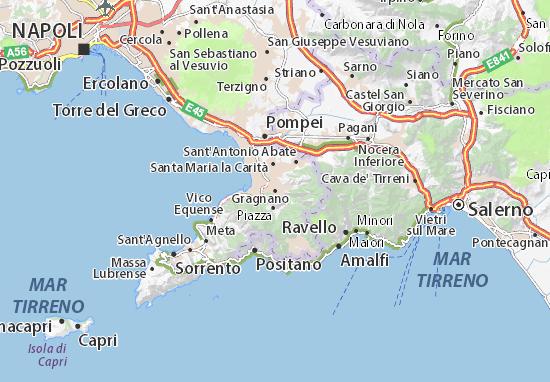 Carte-Plan Gragnano