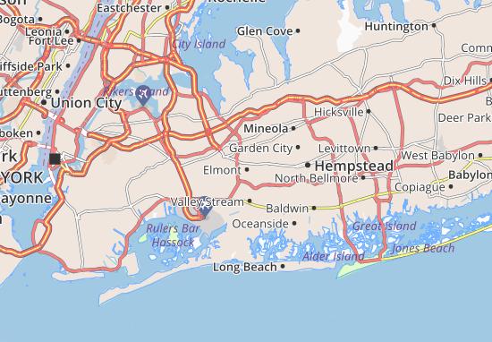 Elmont Map