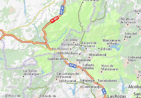 Los Molinos Map