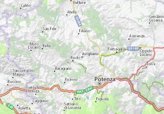 Mappe-Piantine Avigliano