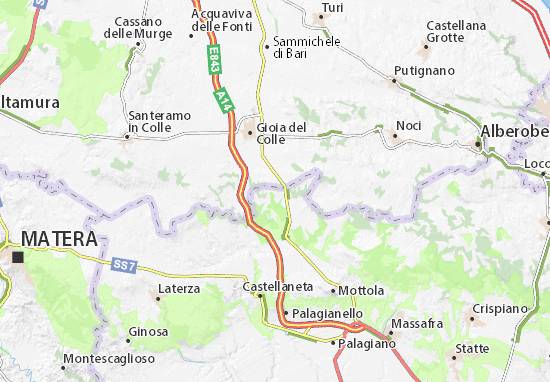Mappe-Piantine Masseria Riccardo