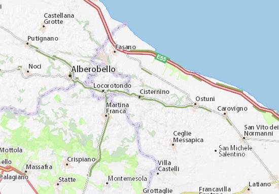 Mappe-Piantine Cisternino