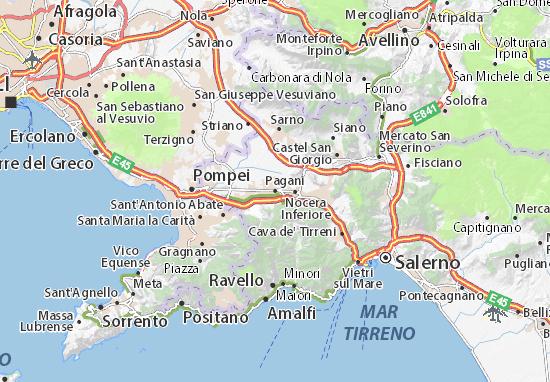 Mapas-Planos Pagani