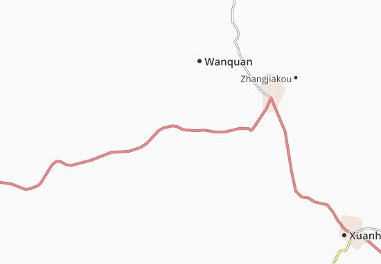 Kaart Plattegrond Kongjiazhuang