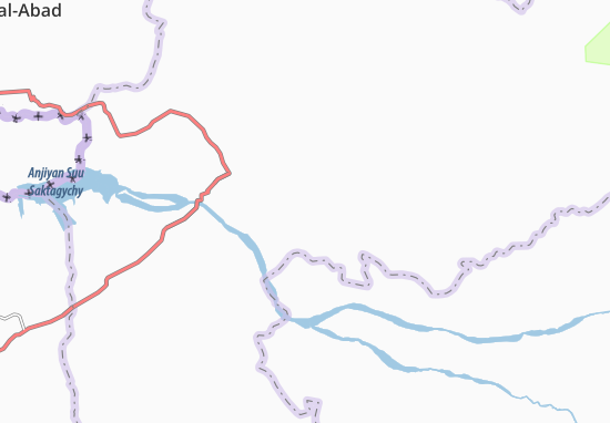 Mapa Plano Mirza-Aki
