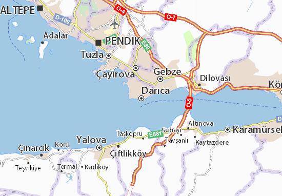 Darıca Map