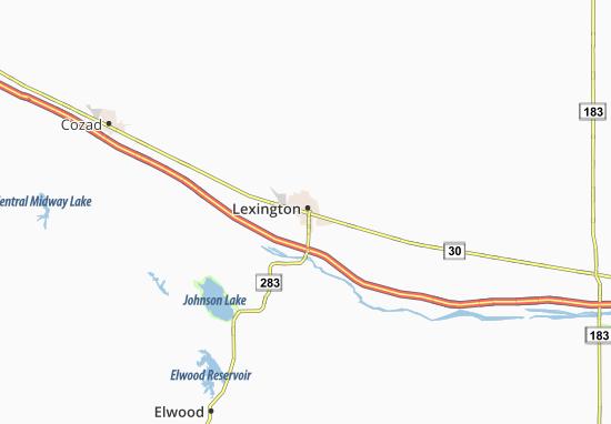 Mapas-Planos Lexington