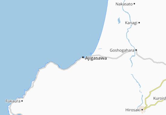 Carte-Plan Ajigasawa