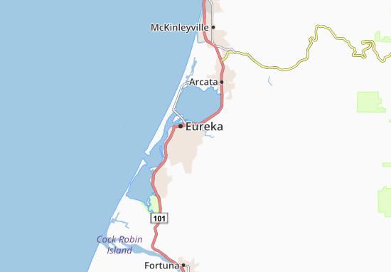Myrtletown Map