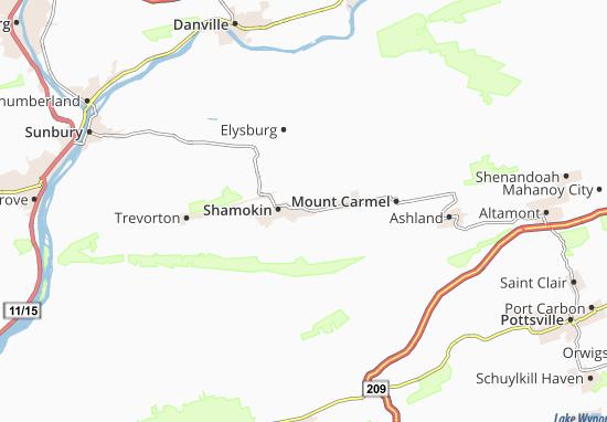 Marshallton Map