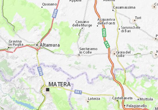 Cartina Di Gravina In Puglia.Mappa Santeramo In Colle Cartina Santeramo In Colle