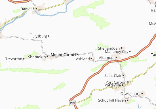 Mount Carmel Map