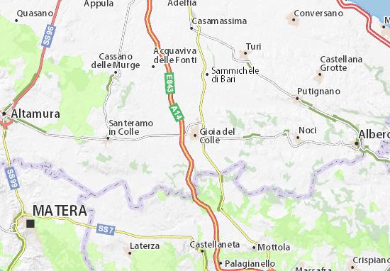 Mappe-Piantine Gioia del Colle